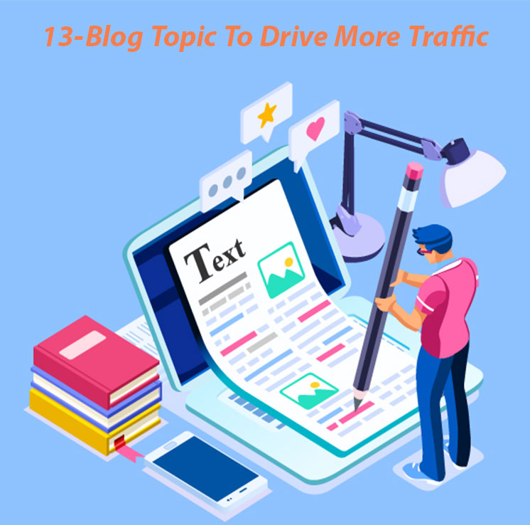 blog to drive more traffic