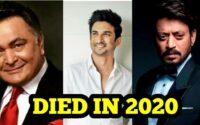 Bollywood Celebrities Died in 2020